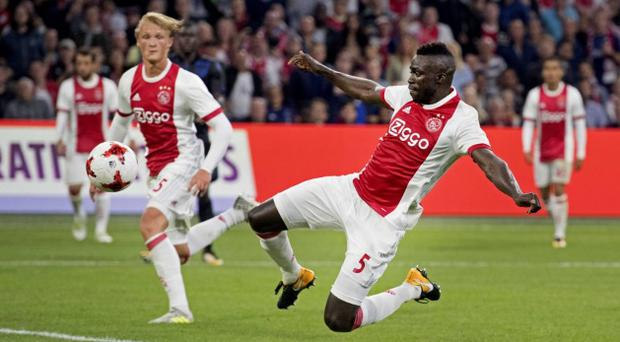 Davinson Sanchez looks likely to become Spurs' first signing of the summer. CREDIT: EPA