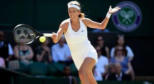 Victoria Azarenka has not played since Wimbledon. CREDIT: EPA