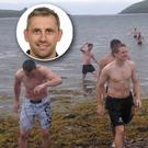 The Dublin senior footballers enjoyed a memorable training weekend in Dingle in the summer of 2012