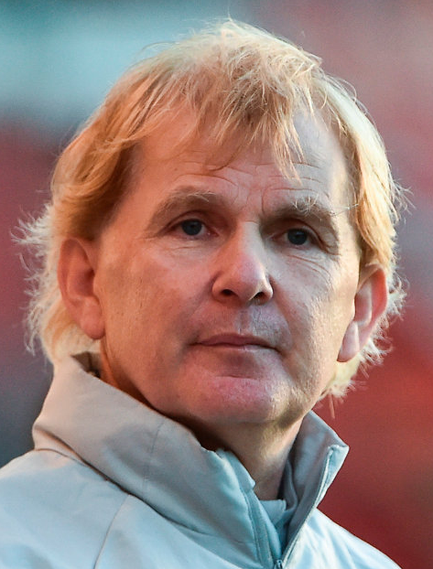 St Patrick's Athletic manager Liam Buckley. Photo: Sportsfile