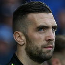 Shane Duffy of Brighton and Hove Albion has signed a new four-year contract that will keep him at the club until 2021. Photo: Getty Images