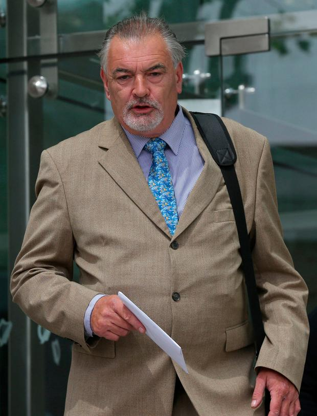 Ian Bailey said he was pleased with the decision. Picture: Collins