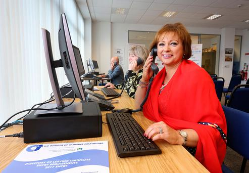 Betty McLaughlin from the Institute of Guidance Counsellors at the Exam Helpline