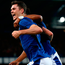 Michael Keane of Everton celebrates his side's first goal against Hajduk Split in the Europa League qualifying play-offs last night. Photo: Getty Images