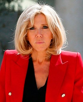 Brigitte Macron 'is used to the extraordinary'. Photo: Reuters