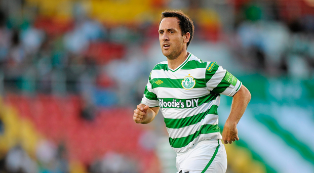 20 August 2010; Neale Fenn, Shamrock Rovers. Airtricity League Premier Division, Shamrock Rovers v Bray Wanderers, Tallaght Stadium, Tallaght, Dublin. Picture credit: David Maher / SPORTSFILE