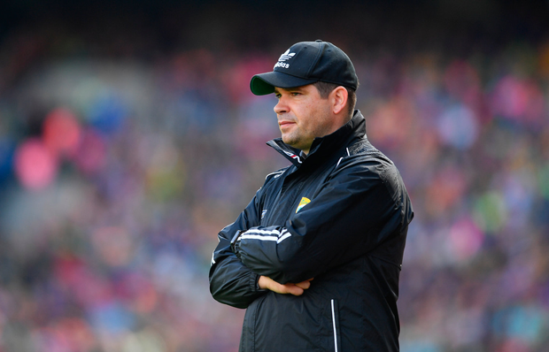 30 July 2017; Kerry manager Eamonn Fitzmaurice during the GAA Football All-Ireland Senior Championship Quarter-Final match between Kerry and Galway at Croke Park in Dublin. Photo by Ramsey Cardy/Sportsfile