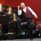File photo dated 30/06/13 of Sir Bruce Forsyth performing on the Avalon stage at the Glastonbury 2013 Festival, as the veteran entertainer has died aged 89. Photo: Anthony Devlin/PA Wire