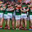 The Mayo players have stuck together during what has at times been a difficult All-Ireland campaign and have earned a semi-final showdown with Kerry at Croke Park tomorrow. Photo: Sportsfile