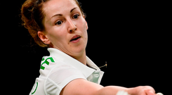 Chloe Magee has been on a roll since teaming up with brother Sam. Photo: Sportsfile