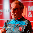 Tyrone boss Mickey Harte, pictured during a press conference at the Tyrone Centre of Excellence in Garvaghy yesterday. Photo: Sportsfile