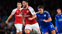 Sead Kolasinac has made a powerful impact in the early stages of his Arsenal career Photo: Getty