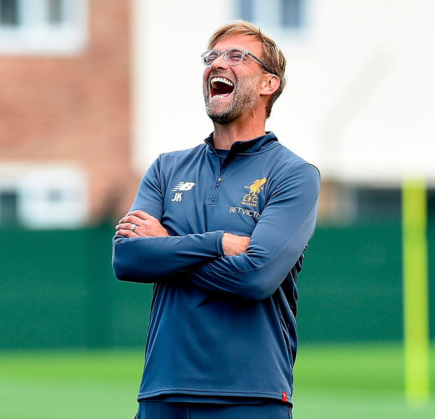 Liverpool manager Jurgen Klopp has vowed not to sell Philippe Coutinho Photo: Getty