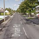 The Drynam Road in Swords close to where the accident happened