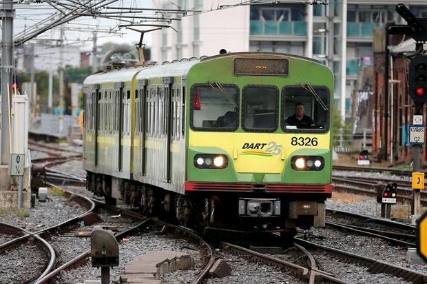Irish Rail's long-promised 10-minute Dart service could soon be back on the agenda, according to sources. Photo: Frank Mc Grath