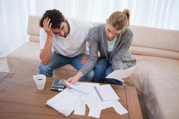Research from Switcher.ie found households are feeling the pinch but they fear a loss of service if they move to a new supplier to save money. Stock Photo