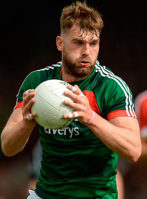 If Mayo's Aidan O'Shea could consistently turn in a solid 70 minutes without frills, that would do nicely. Photo: Piaras Ó Mídheach/Sportsfile