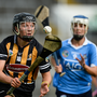 Julieann Malone of Kilkenny in action against Eimear McCarthy of Dublin during the All-Ireland Senior Camogie Championship Semi-Final between Dublin and Kilkenny at the Gaelic Grounds in Limerick. Photo by Diarmuid Greene/Sportsfile