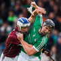 Limerick's Peter Casey in action against Galway's Ciarán O'Connor during the ll-Ireland U21 Championship Semi-Final match at Semple Stadium, Tipperary. Photo: Daire Brennan/Sportsfile