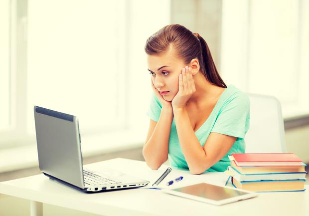 Resist the urge for temporary distraction (Stock photo)