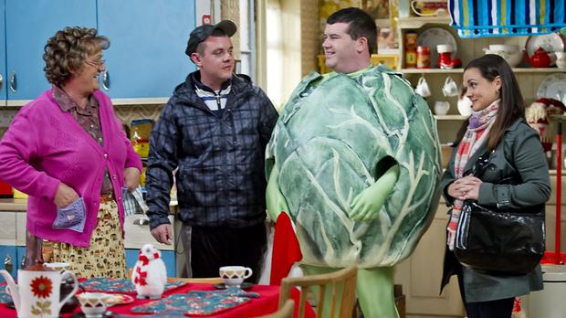 Paddy Houlihan plays Dermot on Mrs Brown's Boys