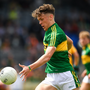 David Clifford of Kerry during the Electric Ireland Munster GAA Football Minor Championship Final match between Kerry and Clare at Fitzgerald Stadium in Killarney, Co Kerry. Photo by Brendan Moran/Sportsfile