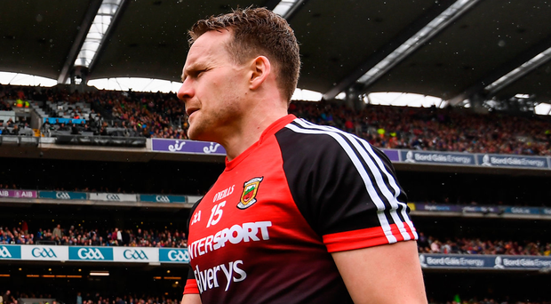 Andy Moran of Mayo was man of the match putting in an impressive display. Photo: Sportsfile