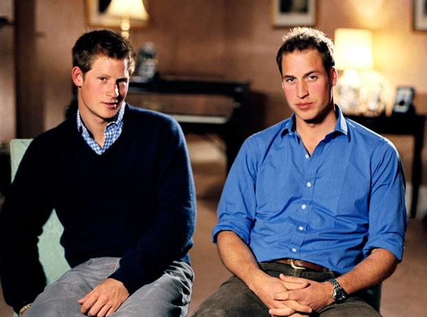 Prince Harry (left) and Prince William are to mark the impact their mother had with a statue. Photo: PA