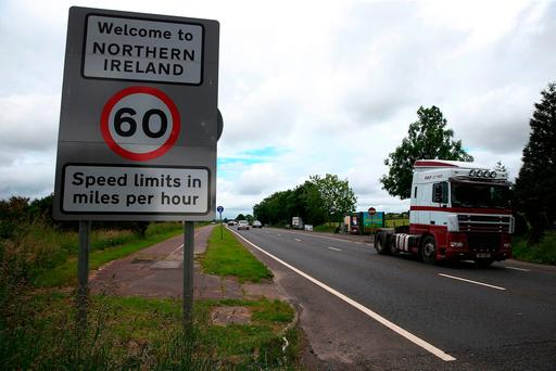 Mr Davis said a positive outcome on trade would increase the prospect of a deal being struck on the Irish Border. Photo: PA