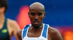 The four-time Olympic champion claimed victory in the 3,000 metres in Birmingham in seven minutes 38.64 seconds yesterday. Photo: Getty