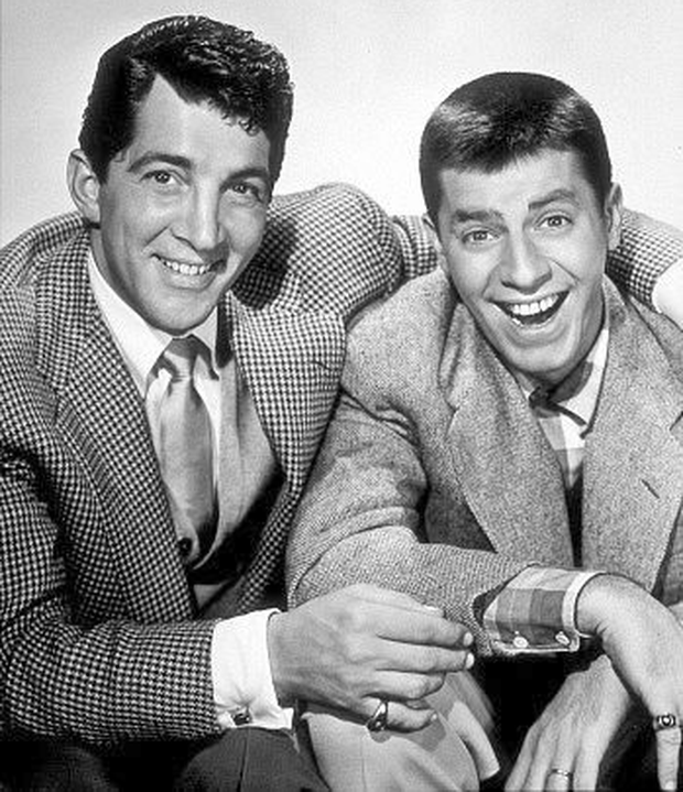 Jerry Lewis with Dean Martin