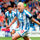 Aaron Mooy: match winner Photo: Getty