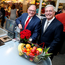 SuperValu managing director Martin Kelleher and eir CEO Richard Moat