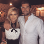 Jess Redden and Rob Kearney. Image: Instagram