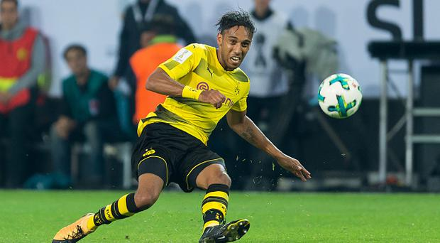 DORTMUND, GERMANY - AUGUST 05: Pierre-Emerick Aubameyang of Dortmund controls the ball during the DFL Supercup 2017 match between Borussia Dortmund and Bayern Muenchen at Signal Iduna Park on August 5, 2017 in Dortmund, Germany. (Photo by TF-Images/TF-Images via Getty Images)