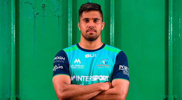 Back-row Jarrad Butler says he couldn't pass up the opportunity to go west when Connacht came knocking on his door. Photo: Sportsfile