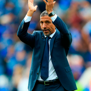 Brighton & Hove Albion manager Chris Hughton. Photo: PA Wire