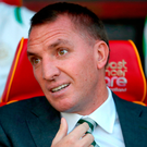Brendan Rodgers insists his Celtic side are relaxed going into this afternoon's Champions League clash with Astana. Photo: PA Wire