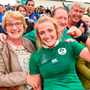 Second row Ciara Cooney will start instead of Sophie Spence today. Photo: Sportsfile