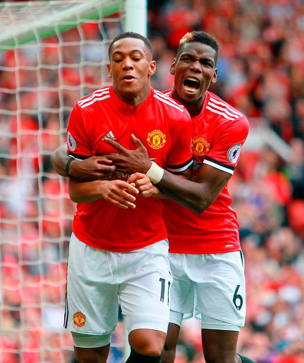 Martial: Pogba Can Win Ballon d'Or In Five Years