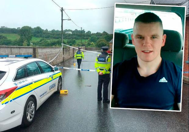 Jamie Hennessy (inset) was attacked at Love Lane in Castlecomer, Co Kilkenny