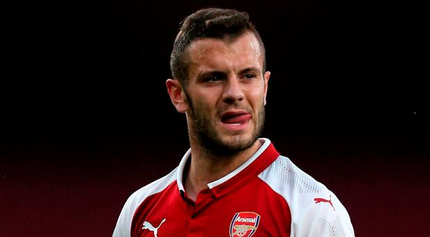Jack Wilshere sent off for pushing opponent in Arsenal Under-23 match