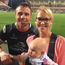 Tommy Bowe and his wife Lucy Whitehouse with daughter Emma. Picture: Tommy Bowe/Instagram