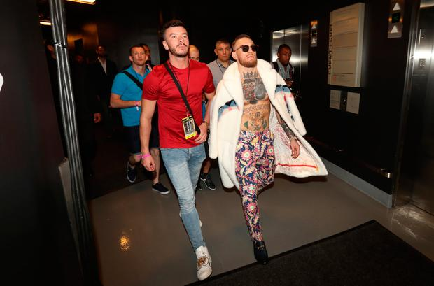 Conor McGregor in Las Vegas