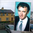 Gardaí in Ardee have launched a fresh investigation into the murder of Tom Oliver (inset)