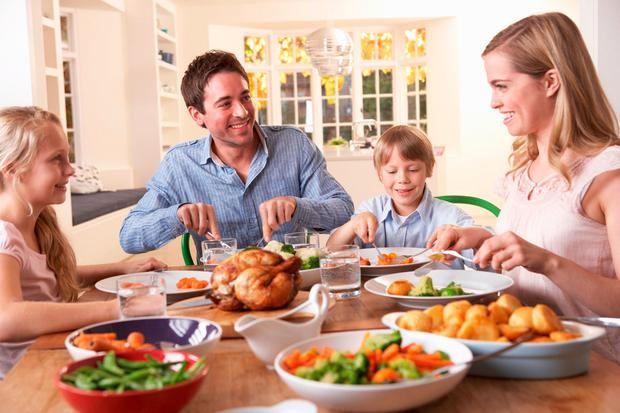 Come dine with me: Research shows families who eat together are healthier
