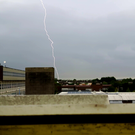 Storm hits North Dublin. Photo: Eimear O'Sullivan