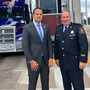 Taoiseach Leo Varadkar visits Canadian border