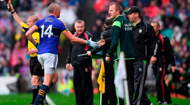 Eamonn Fitzmaurice and Stephen Rochford will live and die by their side line calls in Saturday's replayed semi-final. Photo by Stephen McCarthy/Sportsfile