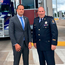 Taoiseach Leo Varadkar visited the Canadian border with the US to meet the frontline staff